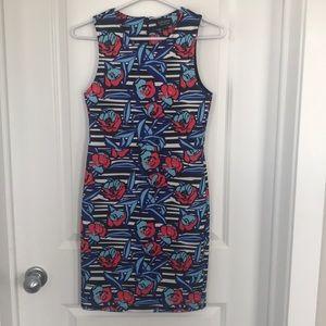 Topshop scuba tank dress